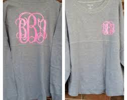 monogrammed sweatshirt monogram sweatshirt monogram