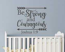Scripture Wall Decals For Nursery Nursery Bible Vinyl Etsy