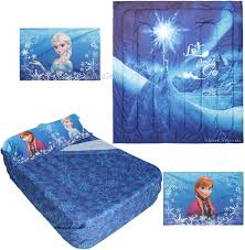 Frozen Comforter Full Size Amazon Com Frozen Let It Go Full Queen Comforter U0026 Full Sheet Set