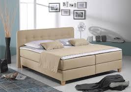Schlafzimmer Boxspringbett Komplett Home Affaire Boxspringbett Beige Liegefläche 140 200 Cm