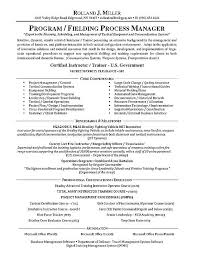 Resume Core Qualifications Examples by Manager Resume Example