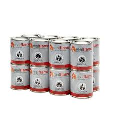 real flame 13 oz 18 5 lb gel fuel cans 16 pack 2116 the home