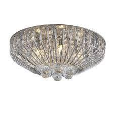 patriot lighting flush mount patriot lighting mio 5 light crystal led flush mount ceiling light