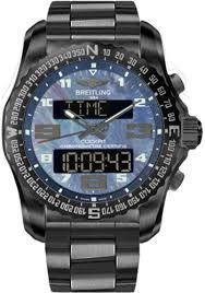 black titanium bracelet images Breitling cockpit b50 black titanium case ssional iii bracelet jpg