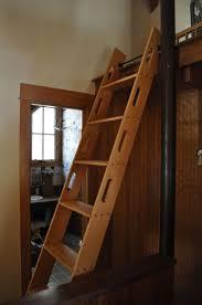 handmade attic access ladder by blake underwood custommade com