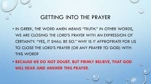 the perfect prayer ppt video online download