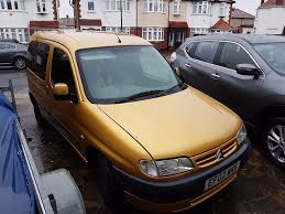 citroen berlingo multispace family mpv 1 6 petrol gold 104k