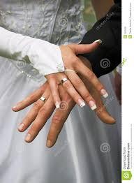 wedding rings fingers images Wedding rings on fingers stock image image 2105531 jpg