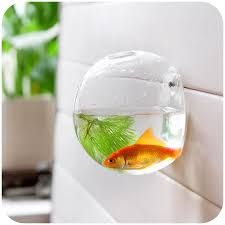 Decoration Of Fish Tank Home Decoration Glass Vases Wall Hanging Decorative Vases Fish