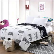 Fur Bed Set Giraffe Print Bedding Set 7 Piece Safari Micro Suede Faux Fur