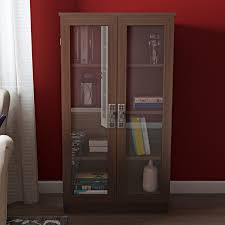 Bookcases With Glass Shelves Bookcases With Doors You U0027ll Love Wayfair