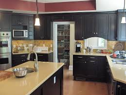 Black Kitchen Countertops by Fireplace Charming Wellborn Cabinets For Kitchen Remodel With