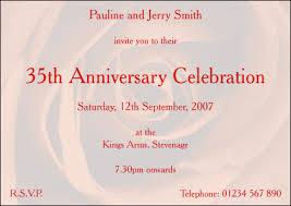 35 wedding anniversary centreprint