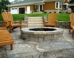 Patio Fireplace Kit by Fascinating Weekend With The Outdoor Fire Pit Kits Interior