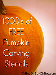 Free Scary Halloween Pumpkin Stencils - free pumpkin carving patterns halloween ohboyohboyohboy