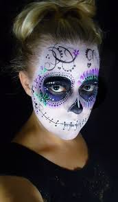 Day Of The Dead Mask 50 Sugar Skull Makeup Ideas