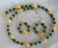 long gold beads necklace images 39 green beaded necklaces green glass bead necklace jewellery jpg