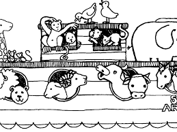 charming idea noahs ark coloring page 7 beautiful design noah ark