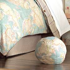 bedding decorative pillows hermes globe decorative pillow and nursery kid bedding sets in