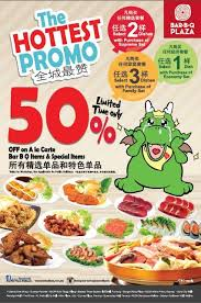 cuisine en promo food promotion barbq plaza malaysia promo 50 on a la