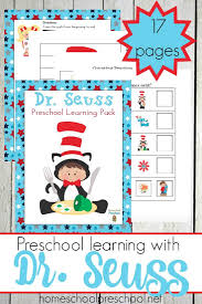 free dr seuss preschool printable