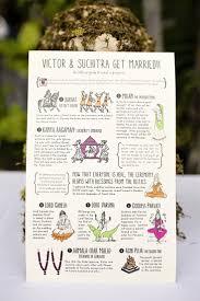 hindu wedding program best 25 wedding program illustrations ideas on simple