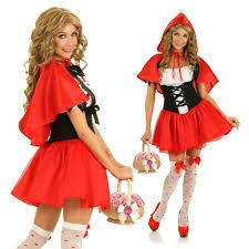 Halloween Costume Red Riding Hood Dress
