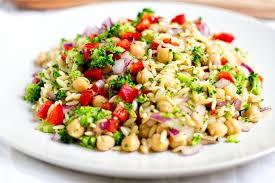 Pasta Salad Recipes With Italian Dressing Orzo Pasta Salad Gone Gourmet