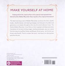 amazon com the world of debbie macomber come home to color an