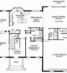 Colonial Open Floor Plans House Projects Plans