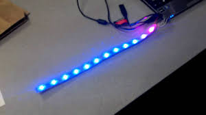 rgb led strip lights 12v rgb led strip with teensy arduino youtube