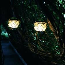 Hanging Lights Patio Garden Hanging Lights Wedding Ceremony With Flowers Outside In The