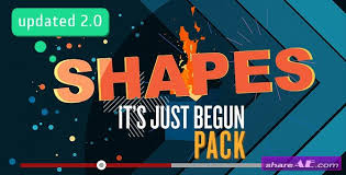 videohive shapes in motion free after effects templates after