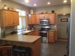 modern kitchen u shaped charming u shape modern kitchen with breakfast bars with brown
