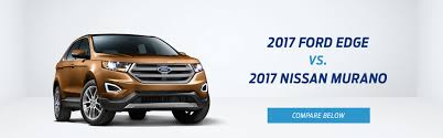 nissan murano vs ford escape small suv comparison tool compare 2017 ford edge vs 2017 nissan