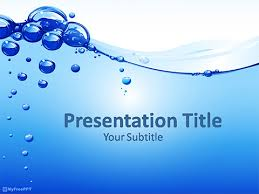 water ppt template free beach water froth powerpoint template