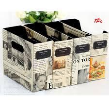 wholesale diy paper board newspaper storage box desk stationery