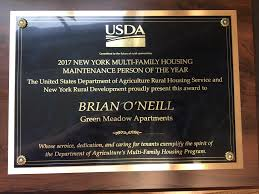 maintenance man brian o u0027neill is person of the year goshen and