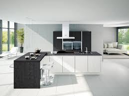 cuisine moderne blanche cuisine noir et blanche awesome cuisine noir et bois galerie et