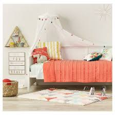 tassel bed canopy one size white pillowfort target