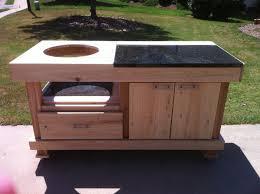 Big Green Egg Table Dimensions Big Green Egg Table Plans Granite Furniture Plans For Corner Hutch