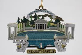 neptune pool metal ornament hearst castle official store