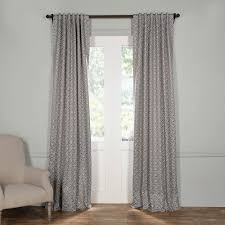 Home Classics Blackout Curtain Panel by Exclusive Fabrics U0026 Furnishings Semi Opaque Secret Garden Leaf