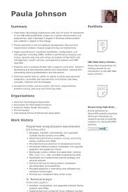 resume programmer system administrator resume samples visualcv resume samples database