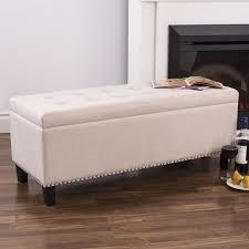 Padded Storage Bench Bench Design Extraordinary Upholstered Storage Benches Storage