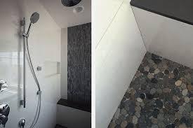 contemporary master bathroom with master bathroom by myd studio