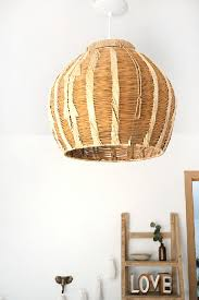 Woven Pendant Light Diy To Try Woven Pendant Light Do It Yourself Projects Lonny