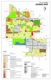 Lincoln City Map Zoning Map City Of Cypress