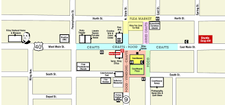 Map Of Downtown Indianapolis Map