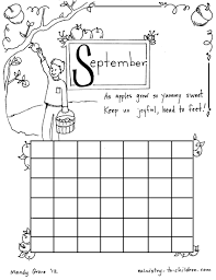coloring pages to welcome september holidays and observances